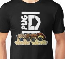Pug Direction Unisex T-Shirt