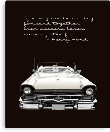 Ford Success Poster by Edward Fielding