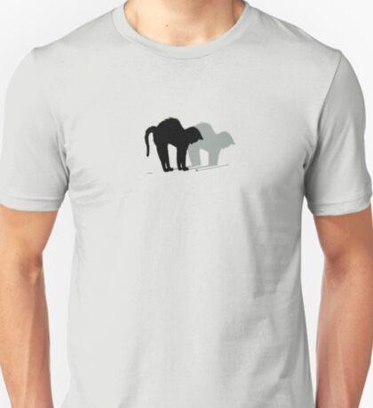 Cat and Flee  VRS2 T-Shirt