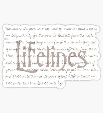 Lifelines  VRS2 Sticker