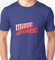 House to Astonish – Red Logo Unisex T-Shirt