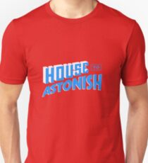 House to Astonish – Blue logo Unisex T-Shirt