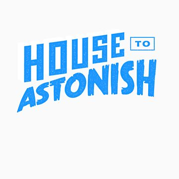 House to Astonish – Blue logo by HouseToAstonish
