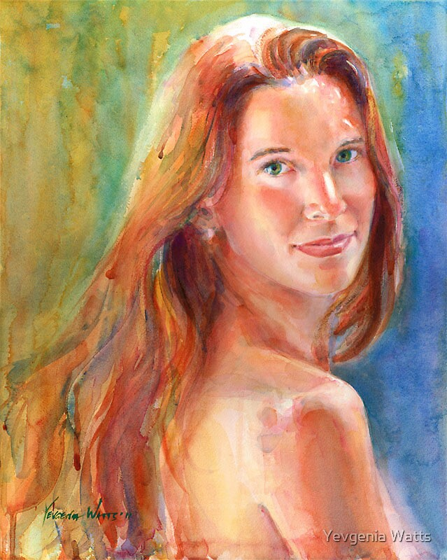 Andrea (Custom Portrait) by Yevgenia Watts