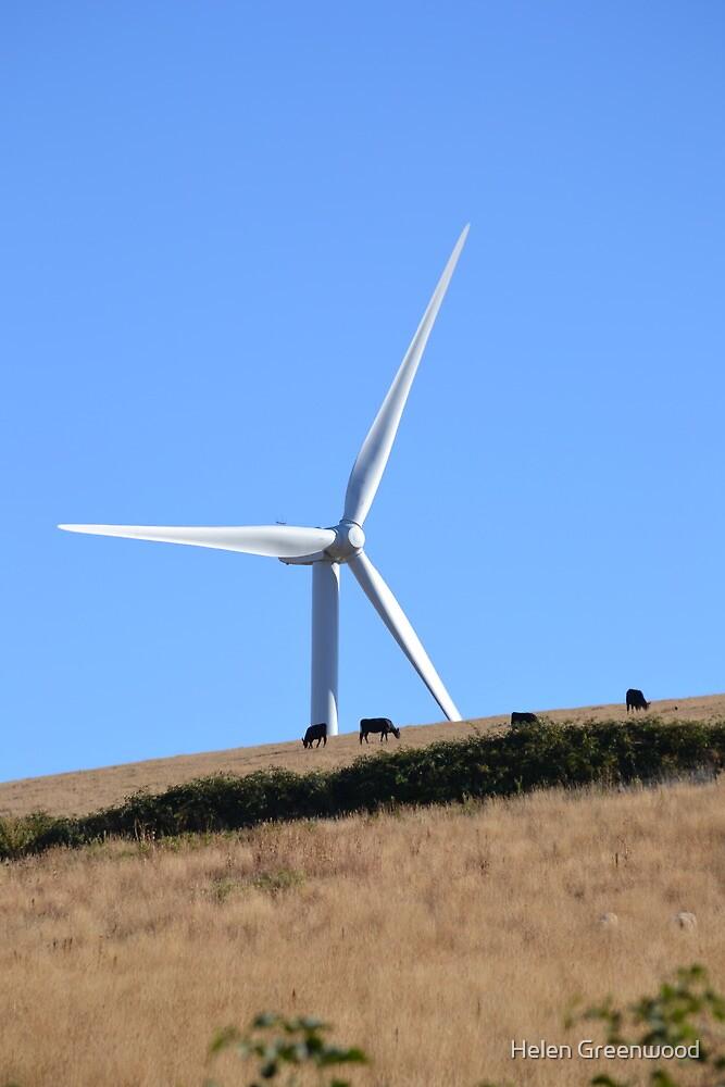Wind Turbine by Helen Greenwood