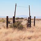 Ranch Gate Marfa by seymourpics