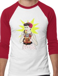 Pin Up Men's Baseball ¾ T-Shirt