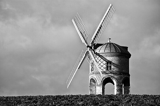 Chesterton Windmill  Shadows by Billy Hodgkins