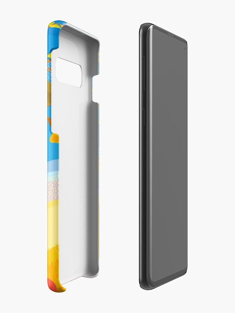 Alternate view of Autumn Farm Case & Skin for Samsung Galaxy
