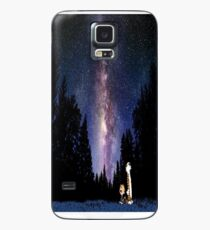 Calvin And Hobbes In The Night Case/Skin for Samsung Galaxy