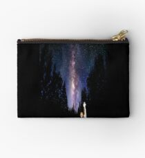 Calvin And Hobbes In The Night Studio Pouch