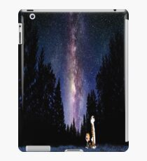 Calvin And Hobbes In The Night iPad Case/Skin