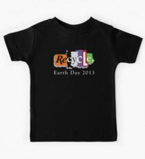 Earth Day 2013 Recycle Kids Tee