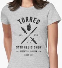 Torres Synthesis Shop Women's Fitted T-Shirt