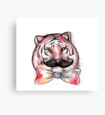 Smart Tiger Canvas Print
