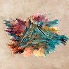 Triangle Fractal Art by JBJart
