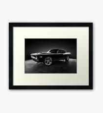 """1972 Plymouth """"Hemi"""" Cuda Framed Print"""