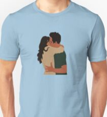 Jess Day and Nick Miller Kiss! Unisex T-Shirt