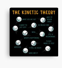 The Kinetic Theory Canvas Print