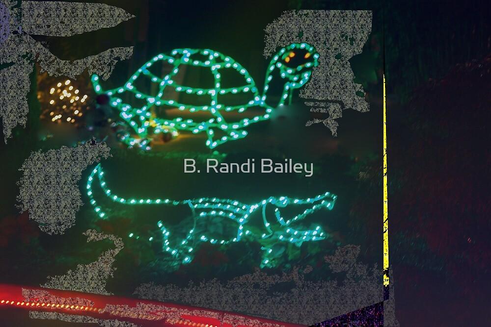 Tortoise and the gator race by ♥⊱ B. Randi Bailey