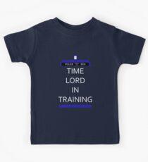 Zeit Herr im Training Kinder T-Shirt