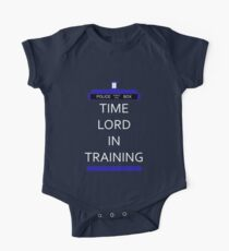 Time Lord In Training One Piece - Short Sleeve