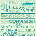tfios - Sometimes you read a book... by Jodie636