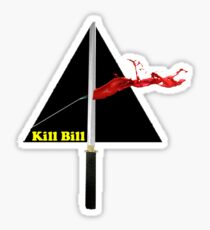 the dark side of kill bill Sticker