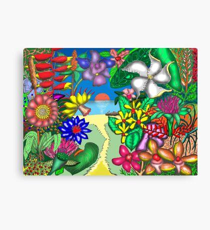 Floradise Canvas Print