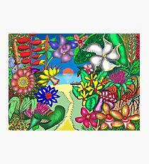 Floradise Photographic Print