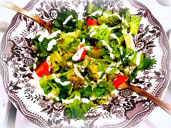 Warm Broccoli Salad by ©The Creative  Minds