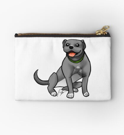 Pitbull - Gray Studio Pouch