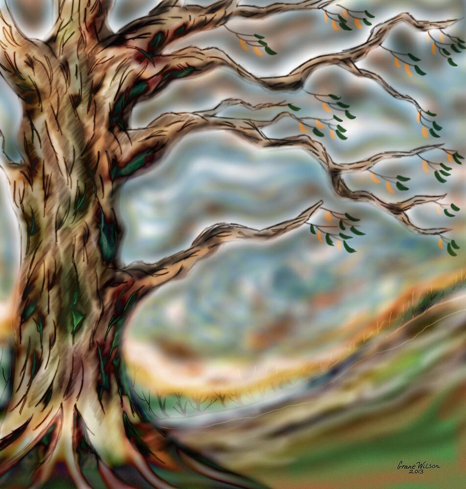 Detail tree by Grant Wilson