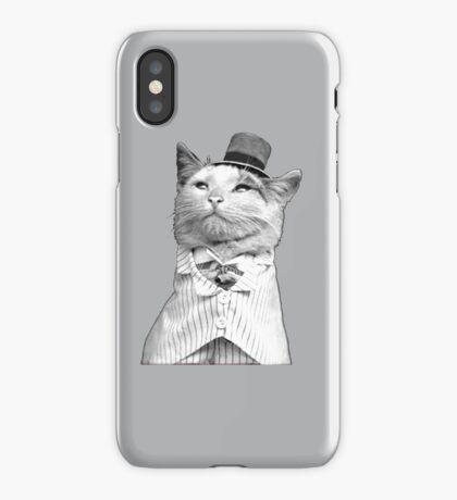 Like A Sir - Cat iPhone Case/Skin