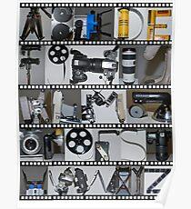 Photography/Film Alphabet Poster