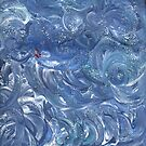 BLUE CLOUDY ABSTRACT by karen66