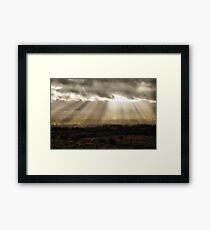 Otley Beams Framed Print