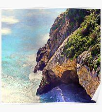 Big Sur Sea Cave - Big Sur, CA Poster