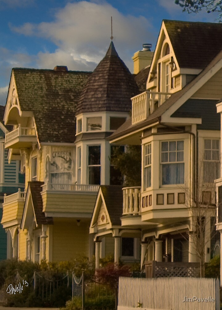 Pacific Grove Victorian by JimPavelle