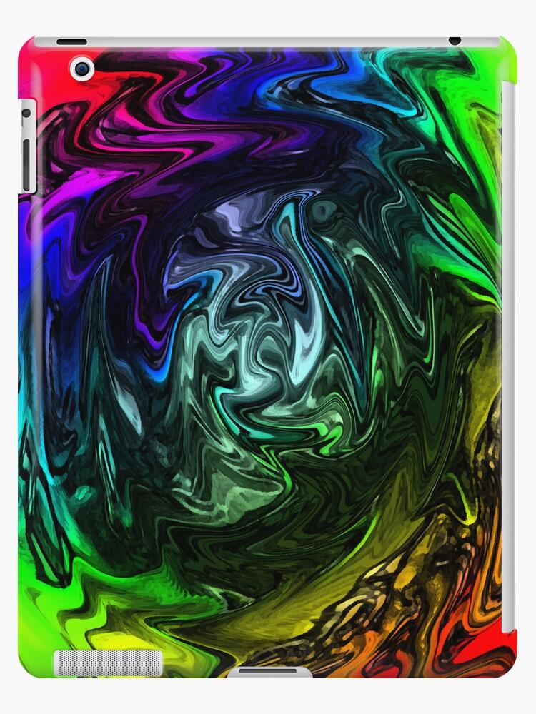 Tie Dye iPad Case by CMACSSTASH