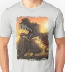 Epoch Cretaceous Dinosaur Battle Unisex T-Shirt