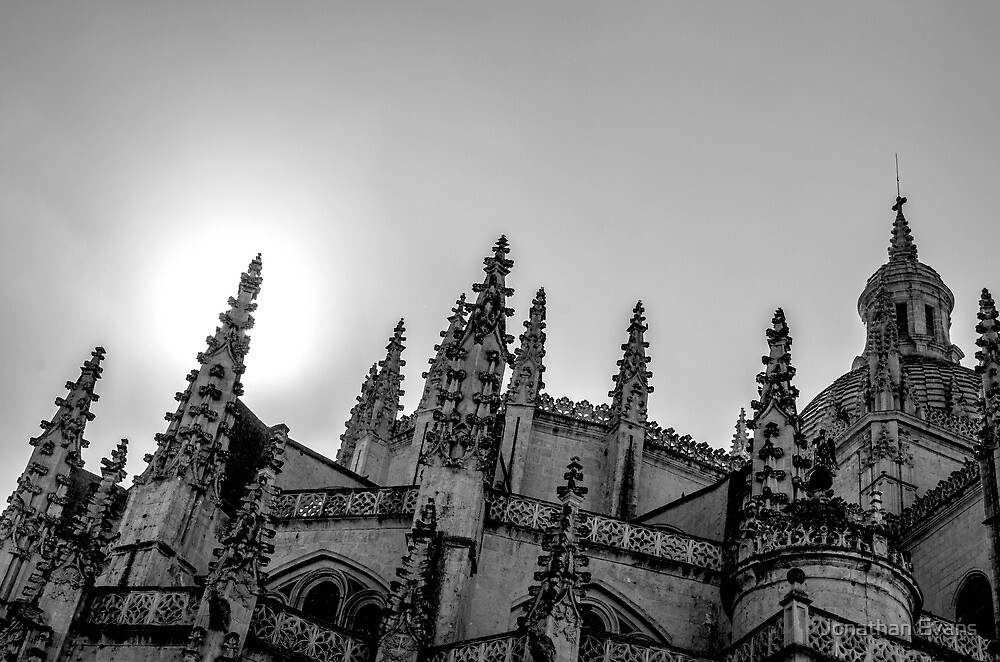 Churches of Spain by Jonathan Evans