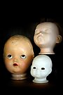 Doll Heads (vertical) by MarjorieB