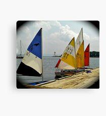 Sail School Canvas Print