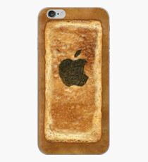 Toast iPhone Case with burnt Apple logo iPhone Case