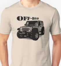Jeep off road, Jeep Wrangler 4x4 T-Shirt