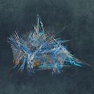 Freedom Fractal Abstract Art by JBJart