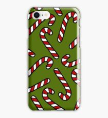 Candy Cane Pattern iPhone Case/Skin