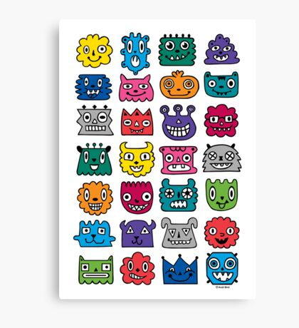 Monster Mash iphone case Canvas Print