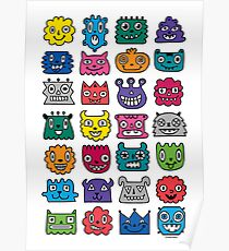 Monster Mash iphone case Poster